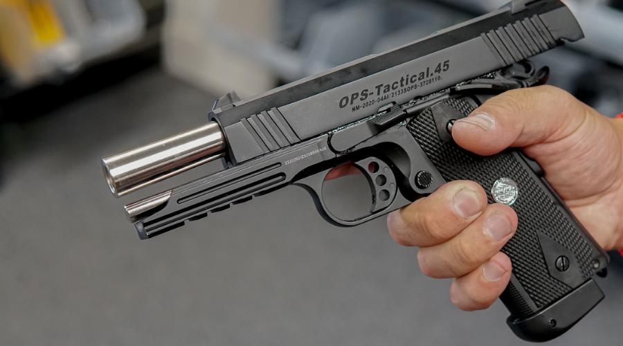 Tactical Ops Gas Gel Blaster Pistol