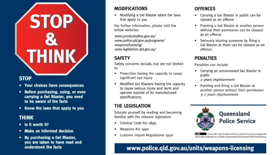 Gel Blaster Laws in QLD