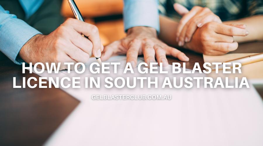 Gel Blaster Licence