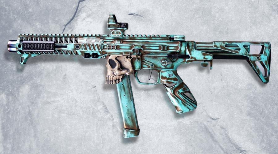 Gel Blaster Mods Custom Paint